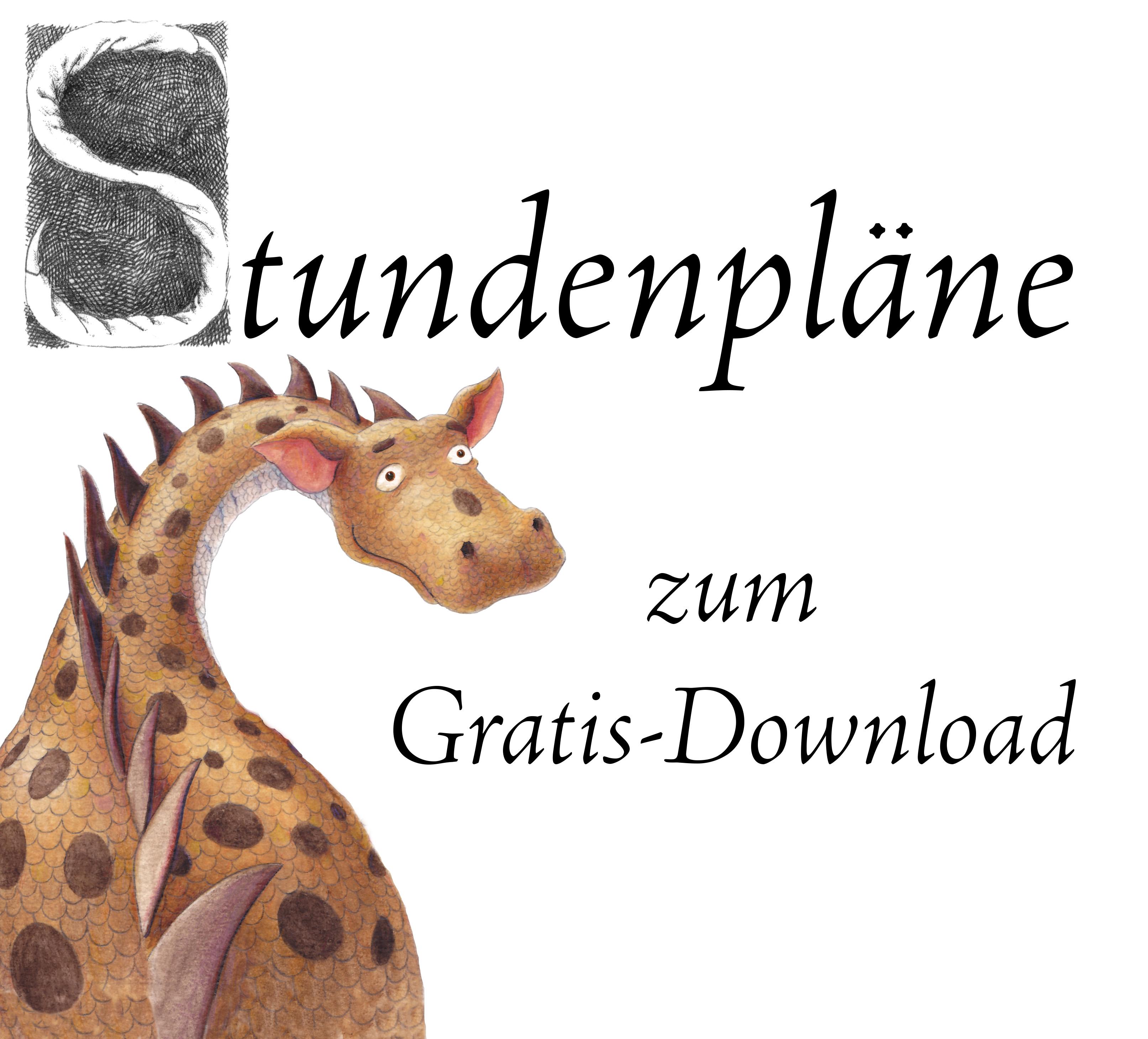 Stundenpläne zum Gratis-Download
