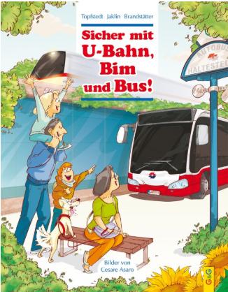 """Buchpräsentation """"Sicher mit U-Bahn, Bim und Bus!"""""""