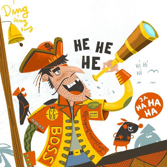 """Theo Piratenkönig"": Fertig zum Entern!"